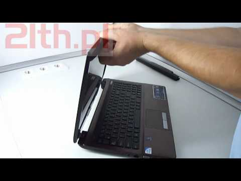 How to replace LCD in notebook Asus X53. Asus screen replacement
