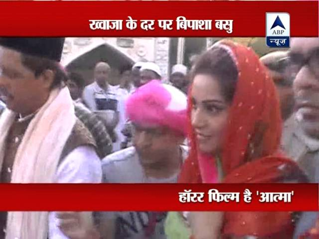 Bipasha prays for success of her new movie 'Aatma' at Ajmer Sharif dargah