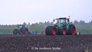 Grond bewerken voor mais zaaien | Fendt Favorit 824 & 512 C & Fendt 512 Vario