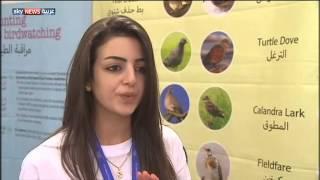 قرية لبنانية تخصص يوما للطير السعيد