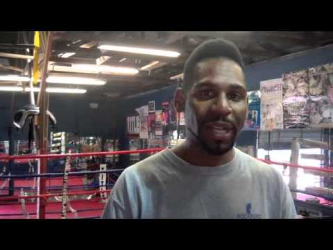 ESPN Friday Night Fights local boxer Cory Yett