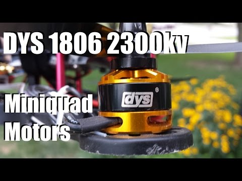 DYS 1806 2300kv Motor Unboxing and Review