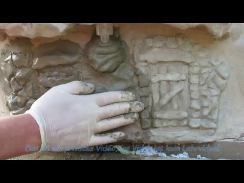 Abdeckung Für Teichfilter Aus Beton Selber Bauen  Video 3