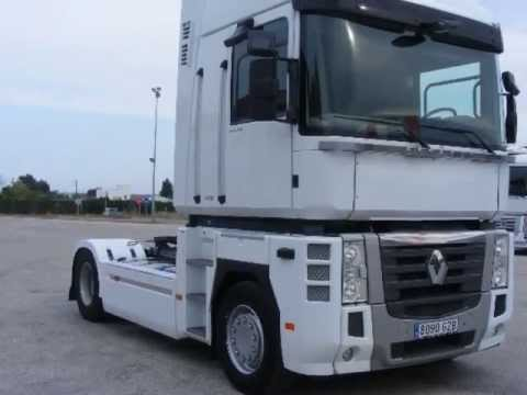 camion renault magnum 520 dxi a o 2010 youtube. Black Bedroom Furniture Sets. Home Design Ideas