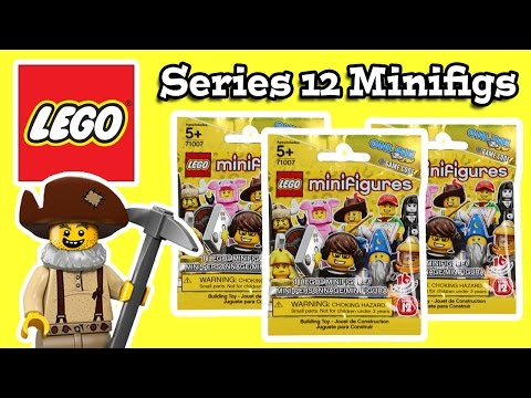Lego Minifigures Series 12 Blind Bags