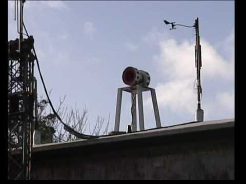 Civil Defence siren test 2002 - Guernsey Nuclear Command Centre