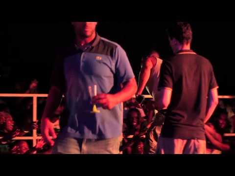 Pompis en live à Kourou (animations plage)