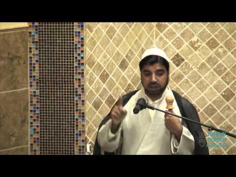 Jumah Khutbah 11:13:2015 Mualana Muffazal Ali