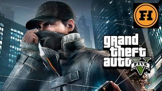 WATCH DOGS in GTA 5! Mod Gameplay!