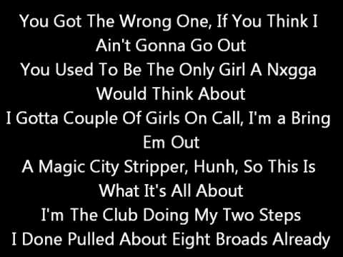 Chris Brown Ft Bow Wow - Ain't Thinking About You  (lyrics On Screen) Karaoke  Fan Of A Fan video