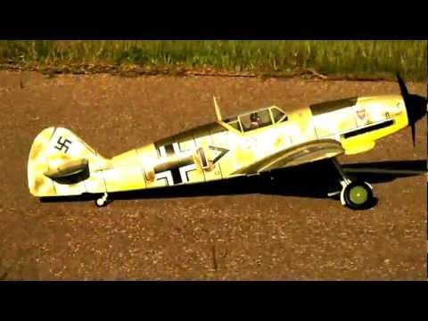 6 CH FMS 2.4GHz Giant Messerschmitt Bf 109F