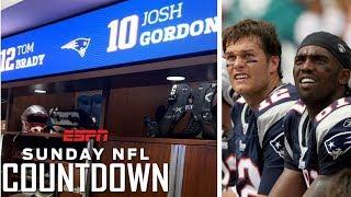 Randy Moss: Josh Gordon's locker next to Tom Brady means 'sky is the limit' | NFL Countdown | ESPN