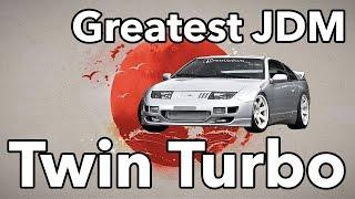 12 Greatest JDM Twin-Turbo Machines Ever