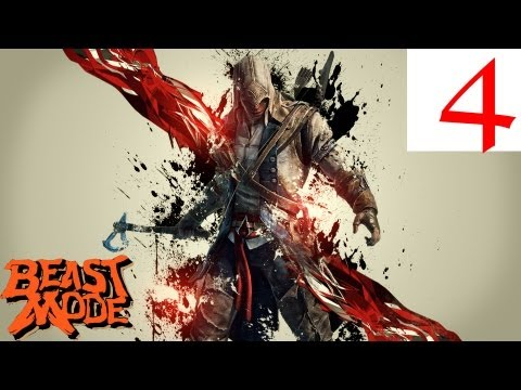 Assassin's Creed 3 Let's Play #4 - Enter Benjamin Franklin and Collection Items