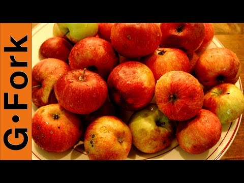 How To Dry Apples & Other Fruit, Dried Fruit How To : GardenFork.TV