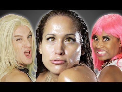 """Jennifer Lopez ft. Iggy Azalea - """"Booty"""" PARODY thumbnail"""