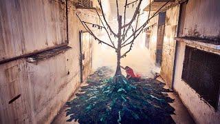 Abandoned Clothing Factory Raises Awareness