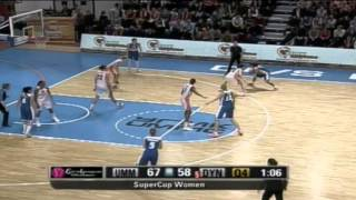 SuperCup Women UMMC-Dynamo Moscow Highlights