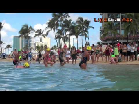Finish From Water Edge #4 - 2010 Waikiki Rough Water Swim