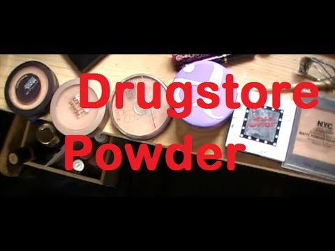 Drugstore powder review-Helper (oily skin)