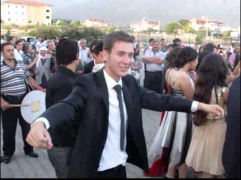 Köyceğiz Anadolu Lisesi 2013 yılı Mezuniyet Töreni - Oyun havaları- Eğlence