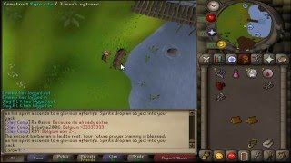 Runescape 2007 Dragon Full Helm drop reaction