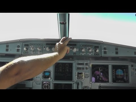 Cyprus Airways A319-132|Cockpit Demo and Descent|1080p HD