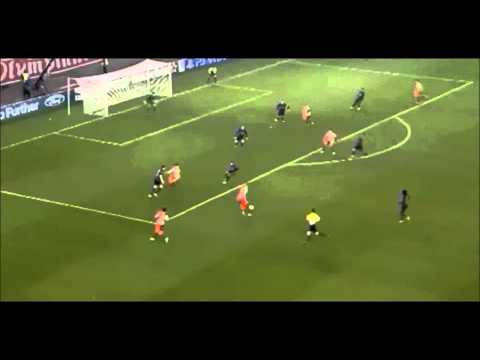 Kostas Mitroglou goal vs Arsenal    |HD|