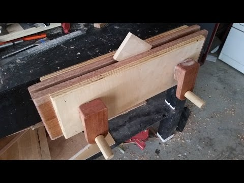 How to make a Moxon Vise Woodworking vise cheap to.mp3