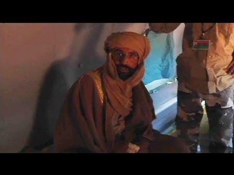 Gaddafi's son Saif al-Islam is arrested in Libya