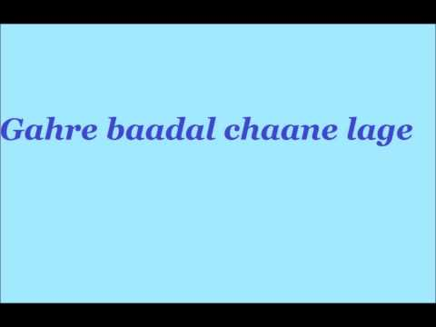 Gahre Baadal Chaane Lage-poem By Rohit video