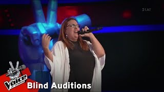 Έλλη Πλατάνου - Baby I Love You | 6o Blind Audition | The Voice of Greece