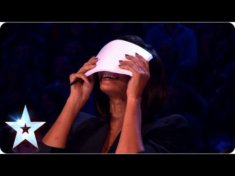 Alesha Dixon and Amanda Holden pucker up on BGMT | Semi-Final 4 | Britain's Got More Talent 2013