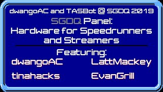 Game console capturing is way more interesting than you'd think: SGDQ 2019 streamers hardware panel