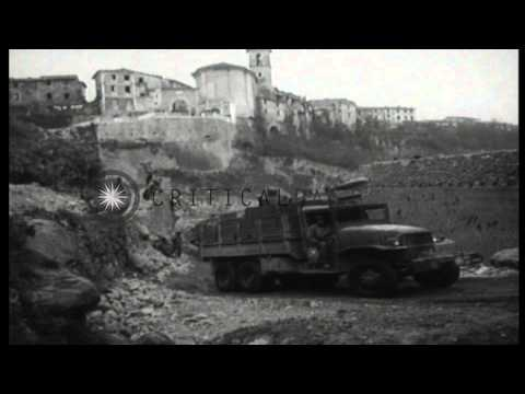 German prisoners are captured by Italian partisans and are loaded into trucks in ...HD Stock Footage