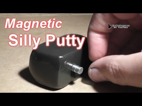 Magnetic Silly Putty Diy Amazing Magnetic Silly Putty
