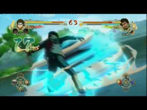 NUNS - Neji Vs. 8 Gates Guy