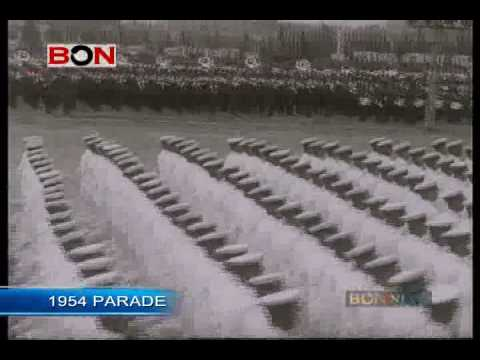 1954 China . National Day PARADE
