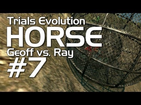 Trials Evolution - Achievement HORSE #7 (Geoff vs. Ray)