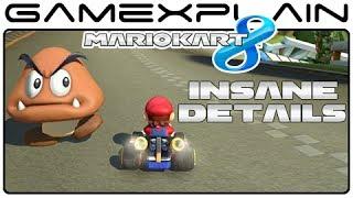 Insane Details in Mario Kart 8 (Blue Shells & Goombas)