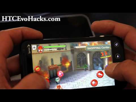 HTC Evo 3D Games - Spiderman!