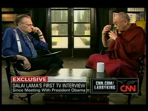 HH The Dalai Lama on Larry King Live Part 2 of 4