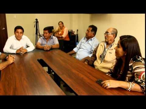Reunion de trabajo con dirigentes del Sector de Puerto El Mate