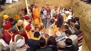 Anant Sheesh installation @ ISKCON Bahadurgarh Temple (4th-Jan'13)