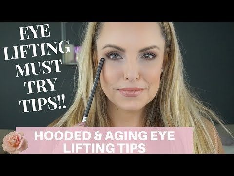 LIFE CHANGING. EYE LIFTING TIPS FOR AGING EYES    Makeup Beginners Guide