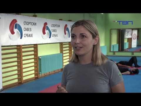 TV Pančevo - Besplatan trenig za žene tokom oktobra