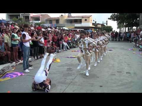 Desfile Cívico 2012 - Baliza e Corpo Coreográfico da BMG - Altinho PE