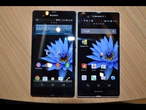 Европейский Sony Xperia Z против японского Xperia Z (comparison)