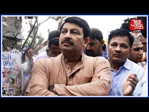 FIR Registered Against BJP Delhi Chief Manoj Tiwari For Breaking Lock During Sealing Protest