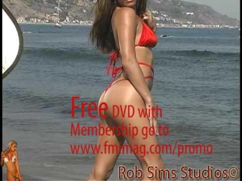 Fitness,bikini/lingere model Shana Steele Shoots  online P.R social media porfolio marketing video